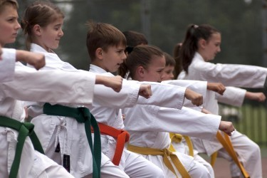 Age Martial Arts What age is right for kids to take martial arts?